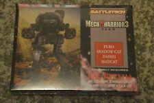 Battletech Mechwarrior 3 Clan Miniatures Box set 10-844 Ral Partha