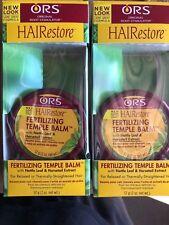 ORS Fertilizing Temple Balm Herbal Scalp Formula 2oz New( Pack of 2 )