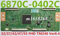 6870C-0402C T-Con Board 32/37/42/47/55 FHD TM240 Ver0.4 Vizio PanasonicTC-L42ET5