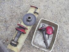 Farmall H Ih Tractor Belt Pulley Assembly Parts Drive Gears Gear