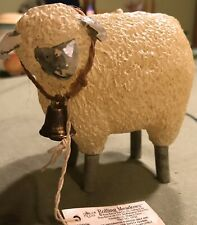 Rolling Meadows #14733 Fat Sheep With Bell 4� Candle