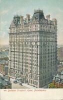 PHILADELPHIA PA - Bellevue Stratford Hotel Glitter Covered Postcard - udb
