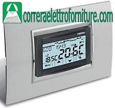 PERRY 1CRCDS27 CRONOTERMOSTATO INCASSO TOUCH SCREEN ALIMENTATO 230V