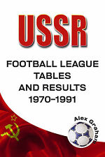 USSR - Football League Tables and Results 1970-1991 Soviet Union Statistics book