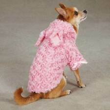 Cozy Hoodie Rosette Dog Puppy Coat Jacket Pink Easter Bunny Ear Misc Size