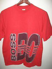 Boss By I.G. IG Design Vintage 1990's USA Urban Fashion Hip Hop Red T Shirt XLrg