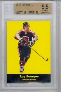 1991 Parkhurst Ray Bourque (HOF) (All-Star Card) (#221) BGS9.5 BGS