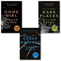 Gillian Flynn Series 3 Books Collection Set Gone Girl Dark Places Sharp Objects