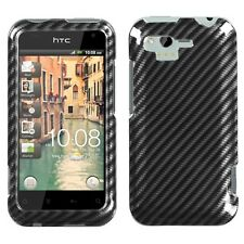Racing Fiber HARD Protector Case Snap on Phone Cover for Verizon HTC Rhyme