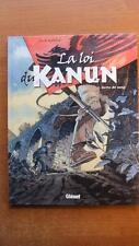 LA LOI DU KANUN T. 1 : DETTE DE SANG - E.O. - MANINI - CHEVEREAU - GLENAT -2005-