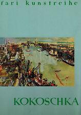 Borchert, Oskar Kokoschka, cartella M 10 dipinto quadratini, Safari ARTE SERIE 1959