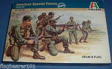 ITALERI 6078 - AMERICAN SPECIAL FORCES VIETNAM 1:72 SCALE UNPAINTED PLASTIC FIGS