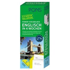 NEU: PONS Power-Vokabelbox ENGLISCH in 4 Wochen schnell und einfach lernen