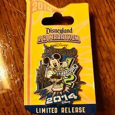 runDisney 2014 Disneyland Half Marathon Mickey Mouse 3D Pin