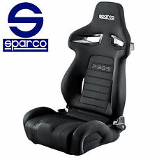 New 2017 SPARCO TUNER RACING BLACK SEAT R333 FORZA 00965NR