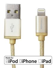 USB 2.0 LIGHTNING CONNECTION CABLES CHARGE SYNC for iPod iPHONE 5 6 6s iPAD 2 3