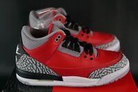 Nike Air Jordan 3 Retro SE GS Size UK 4 EU 36.5 OG Fire Red Cement DS Trainers