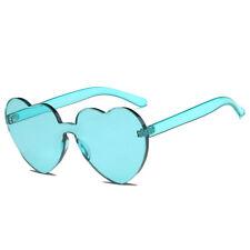 Women Lovely Heart Sunglasses Cat Eye Heart Shape Sun Glasses Eyeglasses UV400