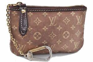 Auth Louis Vuitton Monogram Idylle Pochette Cles Coin Case Pink M62996 LV D1480
