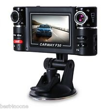"Dual Lens Car Vehicle 1080P HD Dash Camera DVR Cam 8 Night Vision Recorder 2.7"""