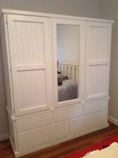 5 piece wardrobe painted WHITE