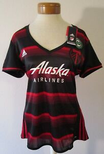 NWT Adidas Portland Timbers 2016 Womens Replica Secondary Jersey XL Red MSRP$75