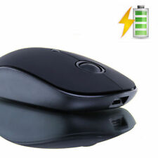 UK Q10 Wireless USB Rechargeable Silent 1600DPI Optical Gaming Mouse Black