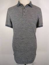Nice Men's XL Michael Kors Multi-Color Striped SS 1/4 Button Polo Shirt GUC