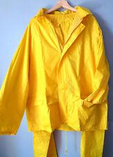 XL PVC Waterproof Jacket & Trousers RAIN SUIT Yellow  VPLarmor Vetipro