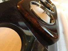 Classic Mini wood dashboard burr walnut 3 clock + 3 dash - new - Special Offer