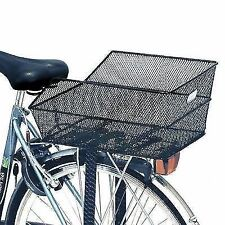 Basil CENTO Steel Mesh Fixed Bicycle Rear Basket Black