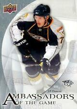2010-11 Upper Deck Ambassadors of the Game #2 JP Dumont