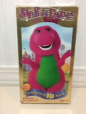 Sing and Dance With Barney (VHS, 1999)