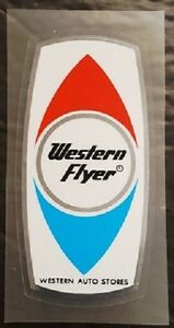 Western Flyer Head Badge Decal (sku 1303)