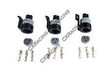 CXRacing Oil Fuel TPS Pressure Sensor Connector Plug Terminal for GM LS1 LSx 3pc