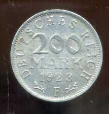 ALLEMAGNE  200 mark  1923 F