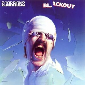 THE SCORPIONS BLACKOUT ALBUM COVER POSTER 24 X 24 Inches