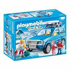 Playmobil 9281 Family Fun Winter SUV 4x4 Car / Vehicle Kids Winter Playset