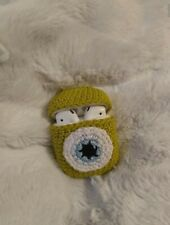 Crochet Airpods Case/ Monsters Airpods Case/ Apple Airpods Crochet