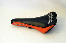 Vintage Bel-Air SDG USA Racing Saddle - Black & Orange Schwinn BMX MTB