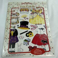 Mary Engelbreit Ann Estelle Magnetic Dress Up Doll Clothes /Accessories New 1998