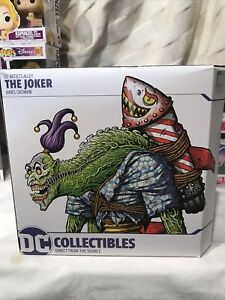 DC Artist Alley The Joker by James Groman Collectable Figure NEW Hand Numbered
