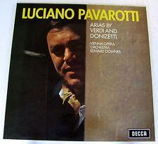 LUCIANO PAVAROTTI - ARIAS BY VERDI AND DONIZETTI - LP NUOVO UNPLAYED