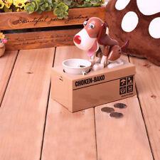 Kreative Doggy Hund Spardose Elektrische Münzen Box Sparschwein Kinder Geschenke