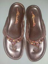 Sandali e scarpe con tacco basso: 1,3 3,8 cm marrone 100