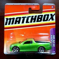 Holden VE Ute SUV  Green *** Matchbox 1:64 OVP