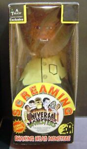 VINTAGE Universal Monsters WOLFMAN SCREAMING SHAKING HEAD TELCO HALLOWEEN 1992