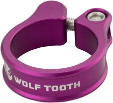 Wolf Tooth Seatpost Clamp 34.9mm Purple Bike Seatpost Collar