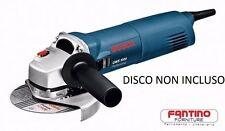 BOSCH SMERIGLIATRICE ANGOLARE GWS 1000 W PROF Ø125mm115 FLESSIBILE MADE GERMANY