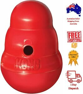 KONG - Wobbler - Food Dispensing Interactive Dog Toy Small & Large Size